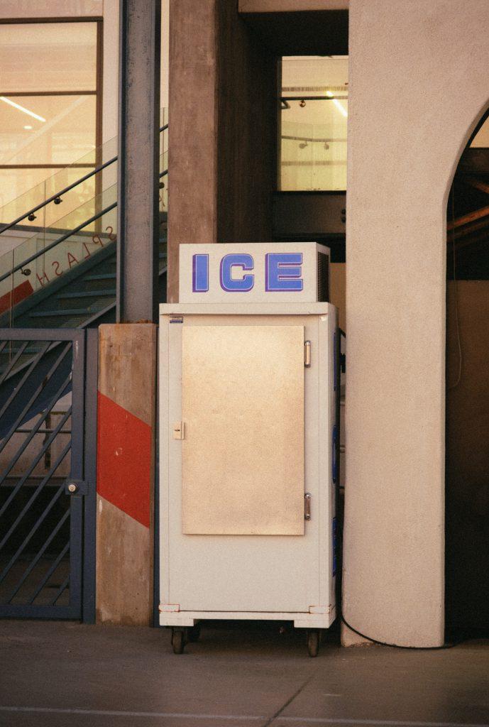 koelkast glazen deur